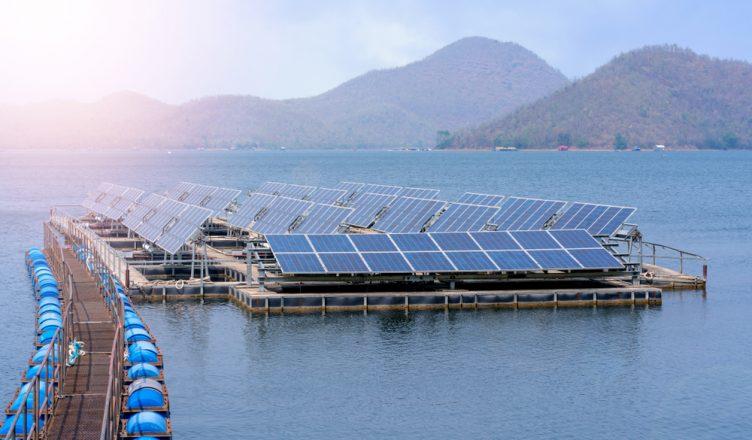Maior Usina Solar Flutuante do Brasil, na Bahia com 5 Megawatts de potência