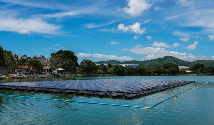 Ilhas Solares Flutuantes Podem Acabar Com a Poluição Atmosférica